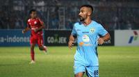 Diego Assis saat laga Persela vs Persija di Stadion Surajaya, Lamongan (20/5/2018). (Bola.com/Aditya Wany)
