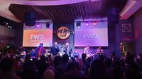 Penampilan Kahitna di FWD Unstoppable Music, Senin (20/1).