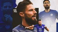 Chelsea - Olivier Giroud (Bola.com/Adreanus Titus)