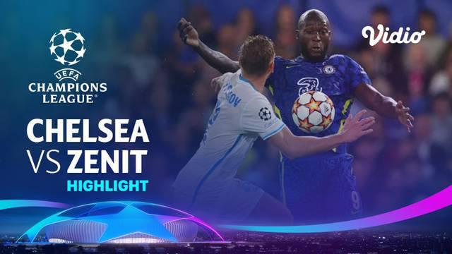 Berita video highlights Liga Champions, Chelsea Vs Zenit St Petersburg. Romelu Lukaku cetak gol satu-satunya The Blues, Rabu (15/9/21)