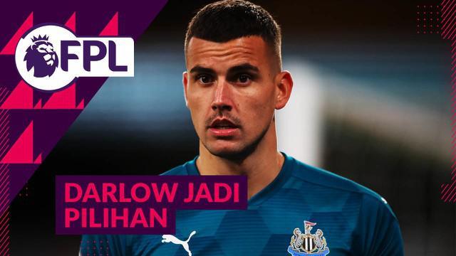 Berita video beberapa alasan yang membuat kamu bisa memilih pemain Newcastle United, Karl Darlow, sebagai kipermu di FPL (Fantasy Premier League) 2020/2021.