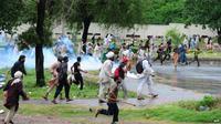 Demonstran di Pakistan. (BBC)