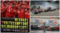 Delapan momen terbaik di F1 GP Belgia. (Berbagai Sumber)