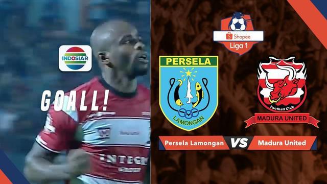 Berita video gol yang tercipta berkat kerja sama apik para pemain Madura United saat menghadapi Persela di Stadion Surajaya, Lamongan, Jumat (17/5/2019)