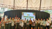 Sosiliasai Program Kostratani di Serang, Banten, Kamis (22/1).