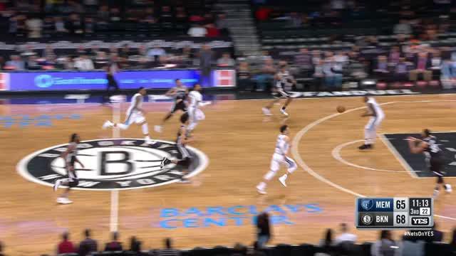 Berita video game recap NBA 2017-2018 antara Brooklyn Nets melawan Memphis Grizzlies dengan skor 118-115.