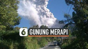Gunung Merapi dilaporkan meletus dan mengeluarkan awan panas dengan tinggi kolom 1.000 meter dari puncak. Status Gunung Merapi pada Level II atau Waspada.