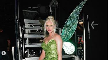 Totalitas Jadi Tinker Bell, Katy Perry Cat Alis dengan Warna Pirang