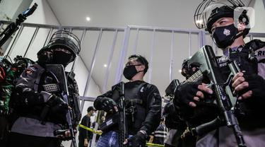 Usai Munarman Ditangkap, Polisi Geledah Kantor Sekretariat FPI