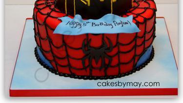 10 Inspirasi Kue Ulang Tahun Bentuk Spider Man Fimela