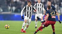 Pemain Juventus, Claudio Marchisio(Alessandro di Marco/ANSA via AP)