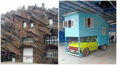 7 Desain Rumah Ini Nyeleneh Banget, Bikin Mikir Dua Kali
