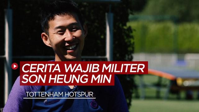 Berita Video Cerita Pemain Tottenham Hotspur, Son Heung-min tentang Wajib Militer dan Rindu Akan Klub