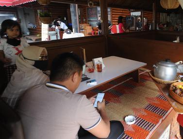 Rumah Makan di Bogor Mulai Terapkan New Normal