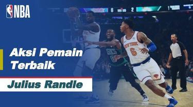 Berita video aksi-aksi terbaik Julius Randle saat New York Knicks kalahkan Milwaukee Bucks 130-110 d NBA, Senin (28/12/20)