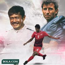 Timnas Indonesia - Zulfiandi sama Indra Sjafri dan  Luis Milla (Bola.com/Adreanus Titus)