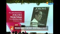 Presiden Jokowi hadiri peluncuran buku 'Jokowi Menuju Chaya' yang ditulis oleh Alberthine Endah.