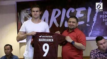 PSM Makassar merekrut penyerang baru bernama Eero Markkanen yang pernah bermain di Real Madrid Castilla asuhan Zinedine Zidane.
