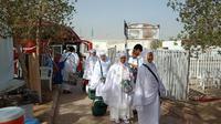 Jemaah Haji Indonesia tiba di Arafah. Dok Daker Bandara Kemenag