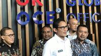 Wakil Gubernur DKI Sandiaga Uno. (Liputan6.com/Yunizafira Putri Arifin Widjaja)