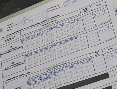 Di TPS Ini, Jumlah Suara Jokowi dan Prabowo Kalah dari Suara Tidak Sah