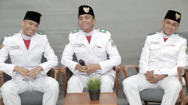Saat masuk dalam Paskibraka Nasional 2019 Rafi Ahmad Falah, Rayhan Alfaro Ferdinand Siregar, Rangga Wirabrata Mahardika mempunyai banyak kenangan indah. Dan mereka bersyukur bisa menjadi bagian dari Paskibraka Nasional 2019.