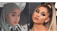 Nabila Azlan miliki rupa mirip Ariana Grande