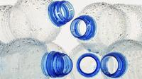 Botol air mineral bekas pakai