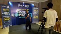 Ratusan peserta Stand Up Comedy Academy (SUCA) 3 tampak antusias mengikuti audisi yang diadakan di Le Polonia Hotel & Convention, Jalan Sudirman, Kota Medan, Sumatera Utara.