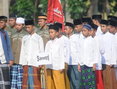 Peringatan Hari Santri Nasional di Tangerang Selatan
