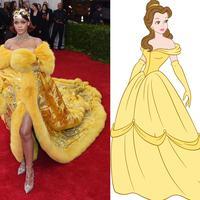 Gaya Rihanna yang seperti Puteri di negeri dongeng.
