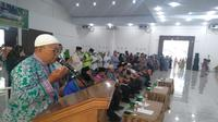 Jamaah Haji Kloter 19 Debarkasi Medan gelar doa bersama untuk BJ Habibie