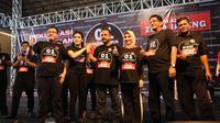 Relawan yang menamakan diri Tim Alpha Nasional mendeklarasikan dukungan terhadap pasangan calon presiden dan wakil presiden Jokowi-Ma'ruf Amin. (Istimewa)