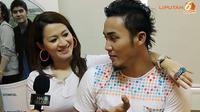 Bila keluar rumah tak pakai lipstik, Okie Agustina dimarahi suami, Gunawan Dwi Cahyo.