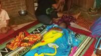 Naldi remaja berusia 15 tahun di Mamuju yang tewas terseret arus sungai (Liputan6.com/Abdul Rajab Umar)