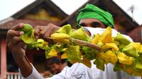 Perayaan Tabut Muharram tahun 2019 dilaksanakan selama 10 hari selama bulan muharram 1441 hijriah (Liputan6.com/Yuliardi Hardjo)