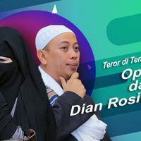 Ada teror di tengah perceraian Opick dan Dian Rositaningrum. (Foto: Deki Prayoga/Adrian Putra/Bintang.com Desain: Muhammad Iqbal Nurfajri/Bintang.com)