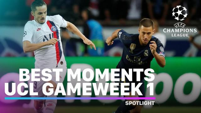 Berita Video Momen Terbaik Liga Champions Matchday 1 Babak Penyisihan Grup