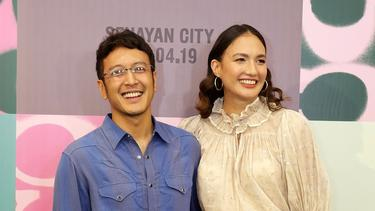 [Fimela] Nadine Chandrawinata dan Dimas Anggara