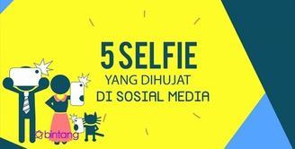 Foto Selfie yang Dihujat di Sosial Media.