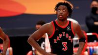 Pemain Toronto Raptors, Og Anunoby. (MIKE EHRMANN / GETTY IMAGES NORTH AMERICA / GETTY IMAGES VIA AFP)