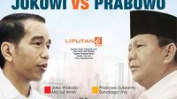 Infografis Elektabilitas Jokowi Vs Prabowo. (Liputan6.com/Triyasni)