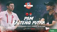 Shopee Liga 1 - PSM Makassar Vs Kalteng Putra - Head to Head Pelatih (Bola.com/Adreanus Titus)