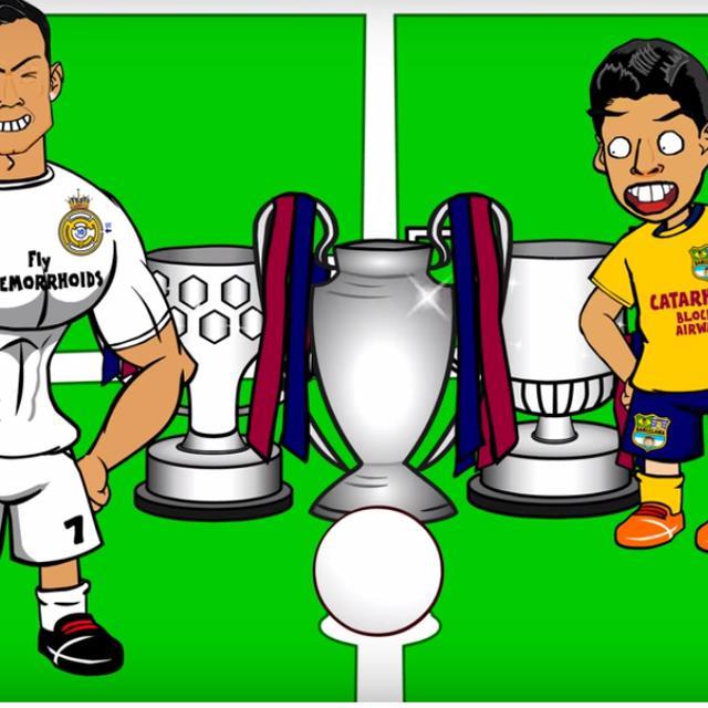 Kisah Takluknya Barcelona Dari Bilbao Hadir Dalam Animasi Spanyol Bola Com