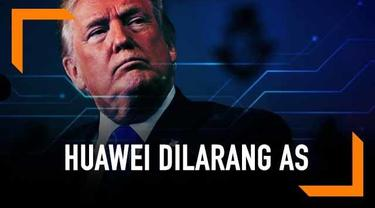 Presiden Amerika Serikat (AS) Donald Trump telah resmi melarang perusahan di AS untuk bertransaksi dengan Huawei. Pelarangan ini tertuang lewat executive order (perintah eksekutif) agar ditaati perusahaan-perusahaan AS.