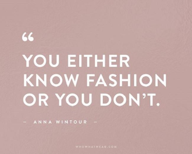 Inilah beberapa kutipan dari kata-kata fashion yang sangat menginspirasi dari orang-orang terkenal di industri fashion. (Foto: www.whowhatwear.com)