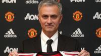 Manajer baru Manchester United, Jose Mourinho. (dok. Manchester United)
