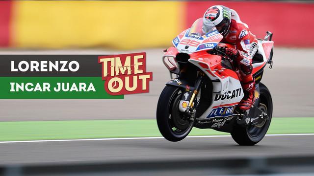 Pebalap Ducati, Jorge Lorenzo, bertekad meraih kemenangan perdananya musim ini pada MotoGP Jepang di Sirkuit Motegi, Minggu (15/10/2017).