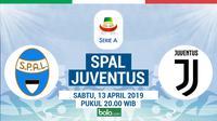 Serie A: SPAL vs Juventus. (Bola.com/Dody Iryawan)