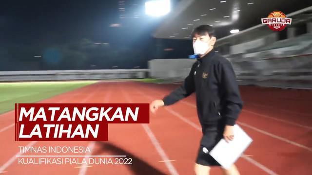 Berita Video Dipimpin Shin Tae-yong, Timnas Indonesia Latihan Intensif Sebelum Terbang ke Dubai